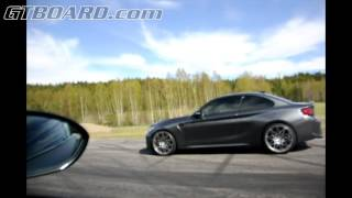 Download BMW 1M vs BMW M2 6-speed manual 340 HP vs 370 HP Video