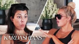 Download Khloe Snaps at Kourtney: ″The Bitch Complains For Hours!″   KUWTK   E! Video