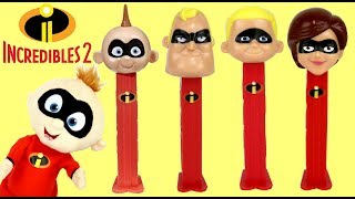 Download The Incredibles 2 PEZ Candy Dispensers with Light Up Fighting Jack-Jack Video