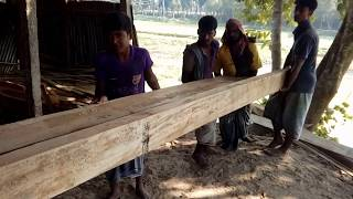 Download Perfect Finishing for Wood Cutting to Made Furniture in Saw Mill Asia-BD/Rain Tree Wood Cutting BD Video