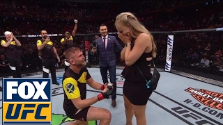 Download Alexander Gustafsson proposes to girlfriend after his KO win over Glover Teixeira | UFC FIGHT NIGHT Video