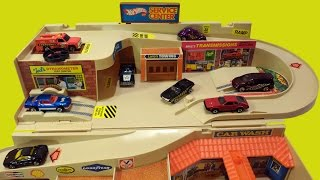 Download 1979 Hot Wheels Service Center Sto & Go Playset Brand New Unboxing Video