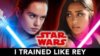 Download I Trained Like Rey From Star Wars For A Month ⚔️ Video