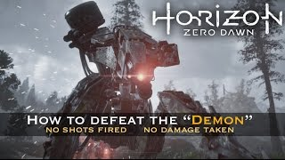 Download Horizon Zero Dawn - How to Easily Defeat the ″Demon″ and Corrupted Machines [ Hard ] Video