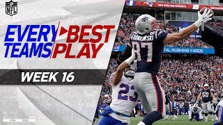 Download Every Team's Best Play From Week 16 🙌 | NFL Highlights Video