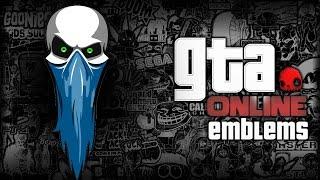 Download GTA V - Skull Wearing Bandana - Custom Crew Emblem Tutorial ( Grand Theft Auto 5 ) Screetch2009 Video
