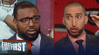 Download Chris Canty's keys to Sunday's Panthers - Falcons matchup | NFL | FIRST THINGS FIRST Video