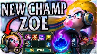 Download NEW CHAMPION TRICKS, HACKS, ROBS & ONE-SHOTS! Cyber Pop Zoe Mid - League of Legends Commentary Video