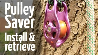 Download Install and safely retrieve pulley saver from the ground Video