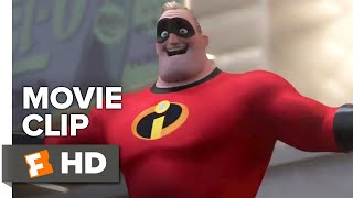 Download Incredibles 2 Movie Clip - The Underminer Has Escaped (2018) | Movieclips Coming Soon Video