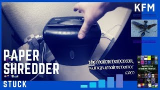 Download How To Fix Paper Shredder Jam Video Video