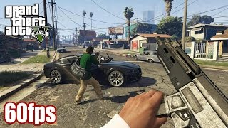 Download Grand Theft Auto V (PS4/XB1/PC) - First Person Mode Trailer (60fps) [1080p] TRUE-HD QUALITY Video