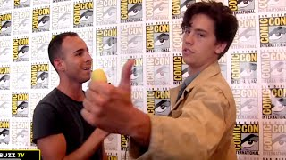 Download Cole Sprouse on Jughead & Why Riverdale Made Him Want to Start Acting Again at Comic-Con 2016 Video