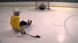 Download Sled Hockey Shooting and Passing Video