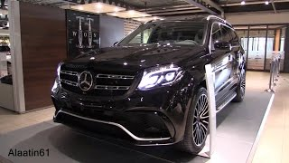 Download Mercedes-Benz GLS63 AMG 2017 GLS Class Start Up, Full In Depth Review Interior Exterior Video