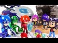 Download Werewolf Kids appeared in moon! PJ Masks Super Moon Adventure Moon hero! Go! #DuDuPopTOY Video
