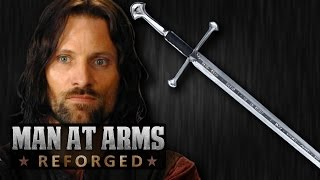 Download Aragorn's Narsil / Andúril (Lord of the Rings) - MAN AT ARMS: REFORGED Video