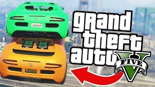 Download BEN'S CAR IS THE BEST RAMPING MACHINE EVER!? l GTA V ONLINE Funny Moments! Video
