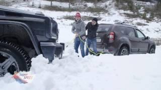 Download Dacia Duster scoate din zăpadă Mercedes-Benz G-Class Video