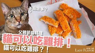 Download 貓可以吃雞排!真的!父親節貓料理【好味貓廚房】EP107 Video