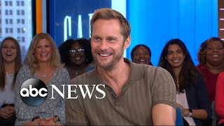 Download Alexander Skarsgard had a 'warped view' of Hollywood after landing 1st acting gig Video