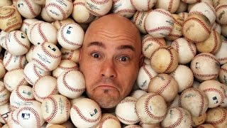 Download Man Owns Thousands Of Baseballs Caught At Games Video