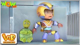 Download Vir The Robot Boy | Hindi Cartoon For Kids | The turtle train | Animated Series| Wow Kidz Video