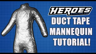 Download Duct Tape Mannequin Tutorial Video