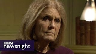 Download Gloria Steinem on Beyonce, Hillary Clinton and what makes a ″proper feminist″ - BBC Newsnight Video