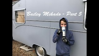 Download Restoring our 1960's Bailey Mikado Vintage Caravan - Part 5 Video