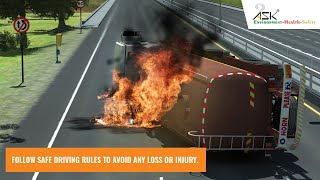 Download Driving Safety Tips by Safety Animation Video
