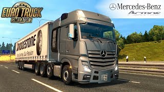 Download Euro Truck Simulator 2 MERCEDES-BENZ ACTROS 4163 SLT Video