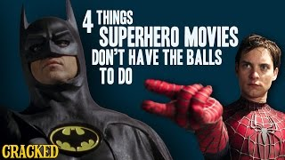 Download 4 Things Superhero Movies Don't Have the Balls to Do Video