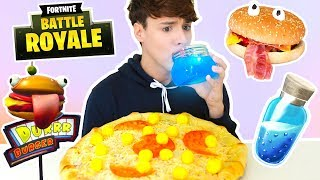 Download i only ate FORTNITE FOODS for 24 hours !!! Video