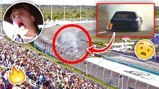 Download Our NASCAR Caught On Fire During The Race... {EMERGENCY} Video