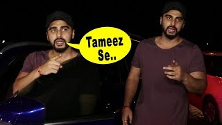 Download Arjun Kapoor ANGRY At Media Photographer For MISBEHAVING Video