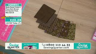 Download Sewing Quarter - Friday 8th November Video
