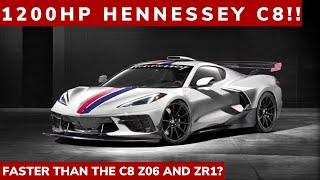 Download 1200 HORSEPOWER HENNESSEY C8: Faster than the C8 Z06 AND ZR1 without the wait?? Video