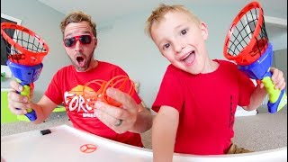 Download Father & Son GET CRAZY HELICOPTER LAUNCHERS! / Goes SUPER High! Video