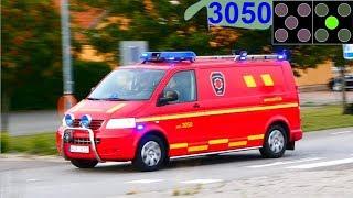 Download räddningstjänsten sydöstra skåne simrishamn KEF 3050 brandbil i utryckning Video