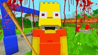 Download Bart Becomes a Bully | The Simpsons | Minecraft Xbox [69] Video