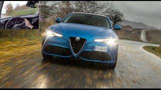 Download 2017 Alfa Romeo Giulia Veloce Q4 [ESSAI VIDEO] : Velociraptor (2.2 diesel) Video