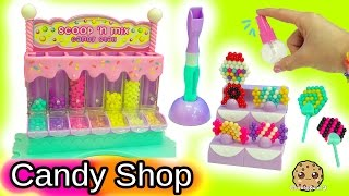 Download Queen Elsa and Princess Anna Shop At Beados Sweet Scoop 'N Mix Candy Shop Video