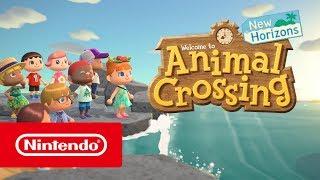 Download Animal Crossing: New Horizons - E3 2019 Trailer (Nintendo Switch) Video