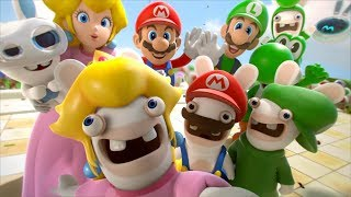 Download Mario + Rabbids Kingdom Battle - All Cutscenes Full Movie HD Video