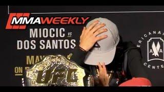 Download Emotional Joanna Jedrzejczyk Walks Out on UFC 211 Press Conference Video