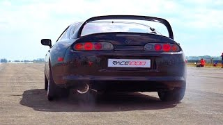 Download Toyota Supra Launch Control Sound Acceleration 0-200 Video
