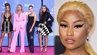 Download Little Mix Make Nicki Minaj CRY With Sweet 2018 EMAs Gift Video