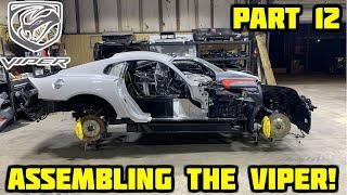 Download Rebuilding a Wrecked 2017 Dodge Viper Part 12 Video