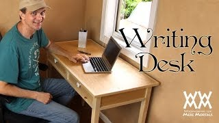 Download Make a quaint and charming writing desk. Free woodworking plans! Video